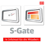 2D Flash Animation S-Gate Deutsche Bahn AG